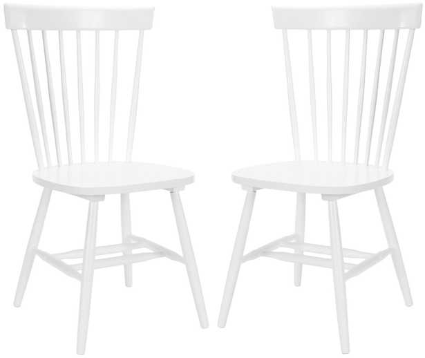 """PARKER 17""""H SPINDLE DINING CHAIR (SET OF 2) - Arlo Home"""