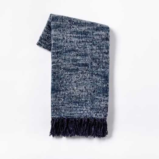 Coziest Throw - Space-Dyed nightshade - West Elm