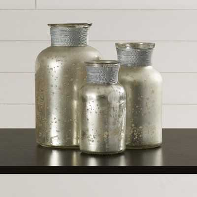 Myhre 3 Piece Decorative Bottle Set - Wayfair