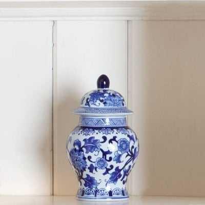 """Floral Ginger Decorative Jar"" - Wayfair"