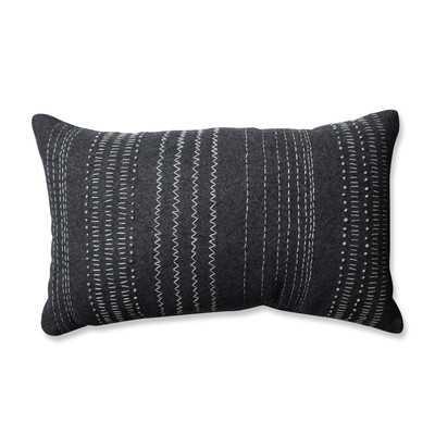 """""""Tribal Stitches Cotton Lumbar Pillow"""" - Wayfair"""