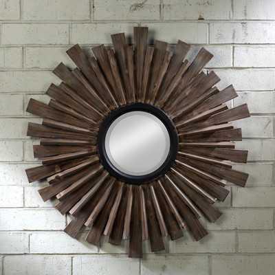 """""""Wood Wall Mirror"""" - Wayfair"""