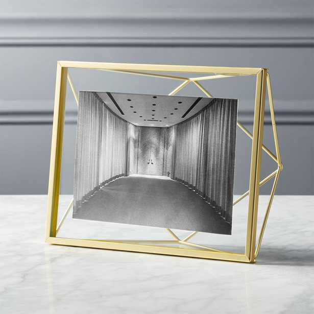 """""""Prisma 5""""X7""""Gold Picture Frame"""" - CB2"""