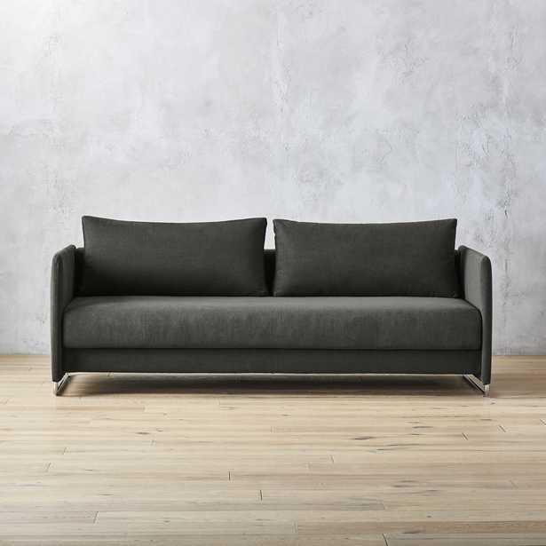 Tandom Dark Grey Sleeper Sofa - CB2