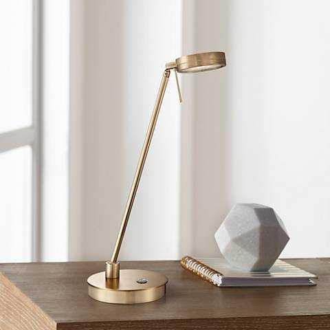 George Kovacs Honey Gold LED Desk Lamp - Lamps Plus