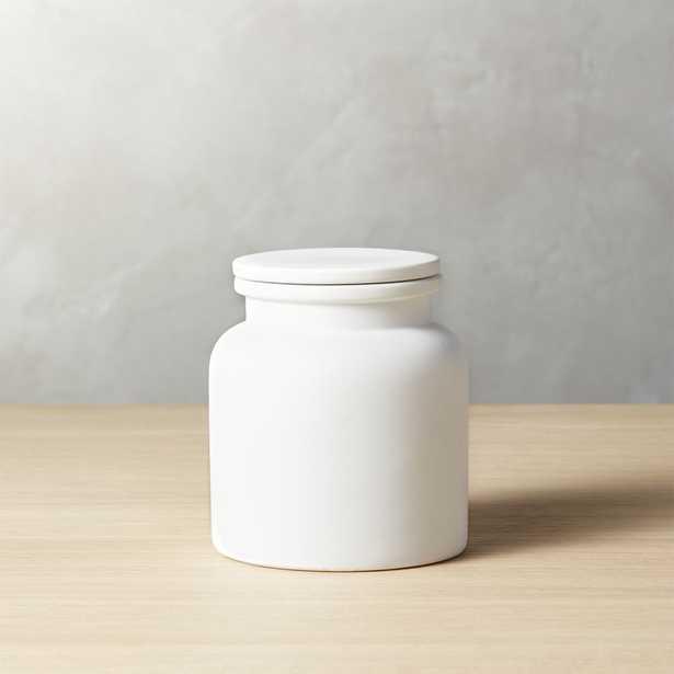 Prep Small White Canister - CB2