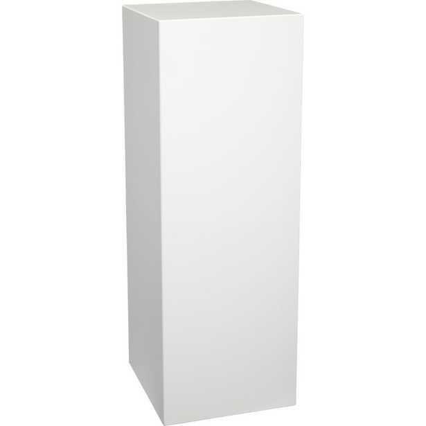 City slicker tall pedestal table - CB2