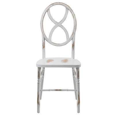 """Veronique Series Wood Solid Wood Dining Chair"" - Wayfair"