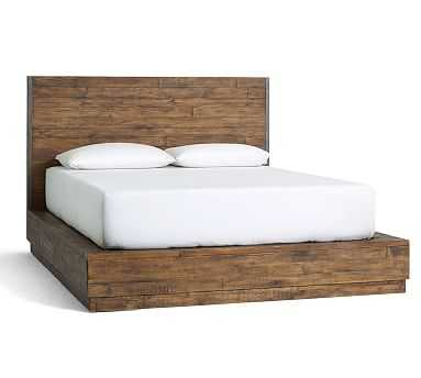 Big Daddy's Antiques Reclaimed Wood Bed, King - Pottery Barn