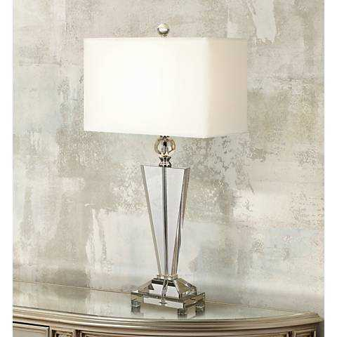 Vienna Full Spectrum Crystal Trophy Table Lamp - Lamps Plus