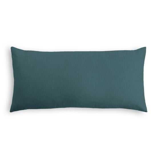 Lumbar Pillow  Classic Velvet - Peacock - Loom Decor