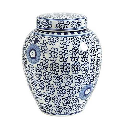 Blue & White Chinoiserie Collection - low lidded - Ballard Designs