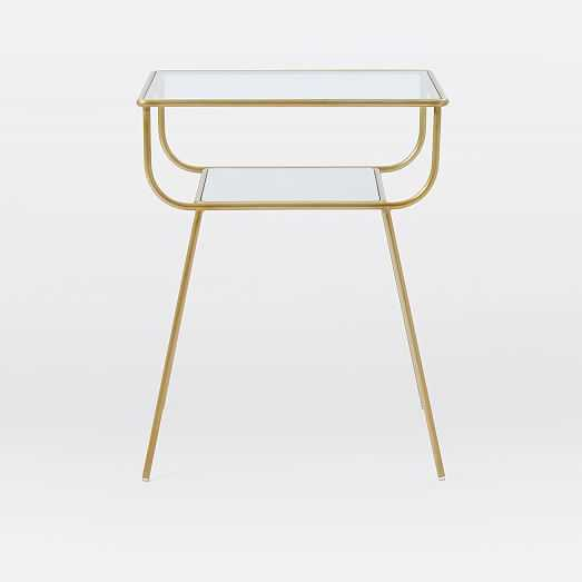 Curved Terrace Nightstand - West Elm