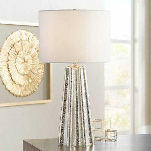 Colter Mercury Glass Table Lamp - Lamps Plus