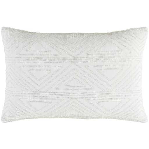 "Hira 13"" x 19"" Pillow with Down Insert - Neva Home"