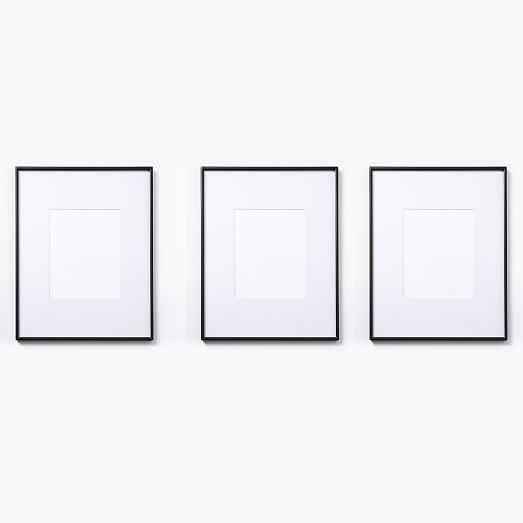 """Gallery Frames - Polished Antique Bronze - Set of 3-  15.5"""" x 19.5"""" Frame - West Elm"""