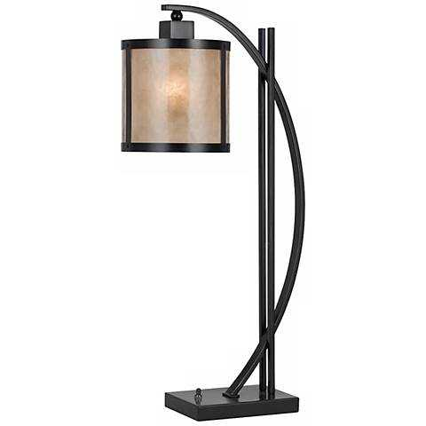Natural Iron and Mica Table Lamp - Lamps Plus