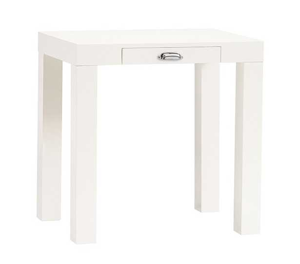 Parsons Mini Desk with Handle, white - Pottery Barn Kids
