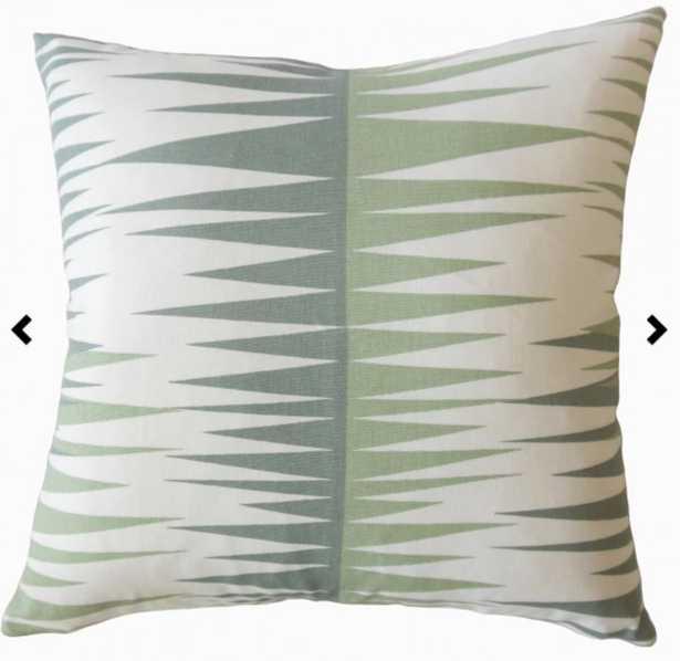Gadge Geometric Pillow Sundown - Linen & Seam