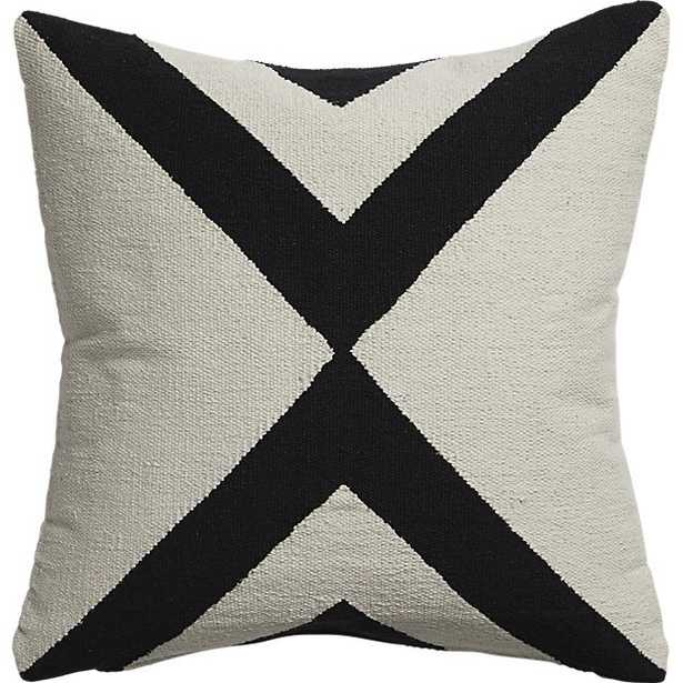 """23"""" xbase pillow with feather-down insert - CB2"""