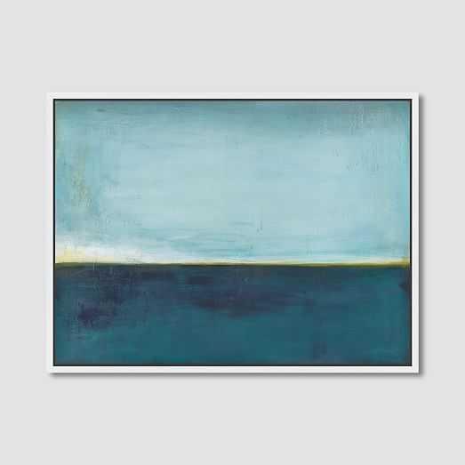 Framed Print - Blue Horizon - West Elm