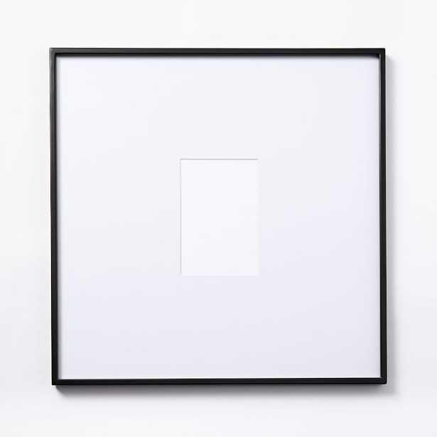 """Gallery Frames - Polished Antique Bronze_17.5""""sq. Frame - West Elm"""
