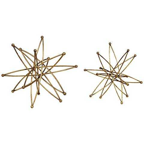 Uttermost Constanza Gold Piece Table Top Accessories Set 2 - Lamps Plus
