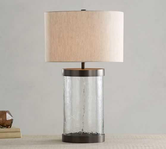 MURANO GLASS TABLE LAMP - Pottery Barn