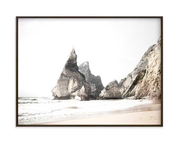 Praia Da Ursa -Matte Black Frame - Minted