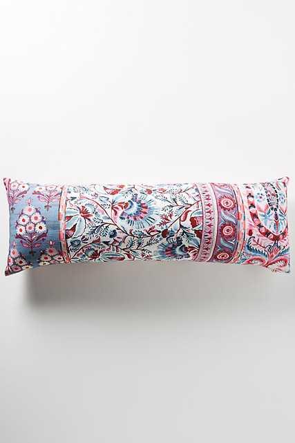Meze Pillow, Pink Motif - Anthropologie