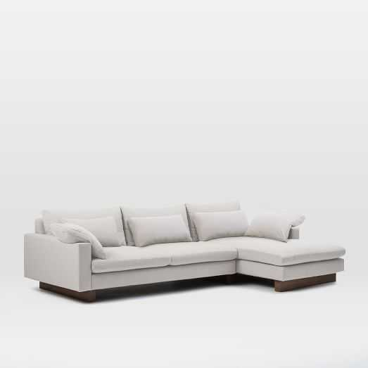 Harmony 2-Piece Chaise Sectional - RIGHT Chaise - West Elm