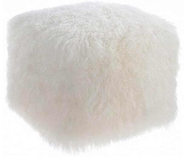 Felicity Sheep White Pouf - Maren Home