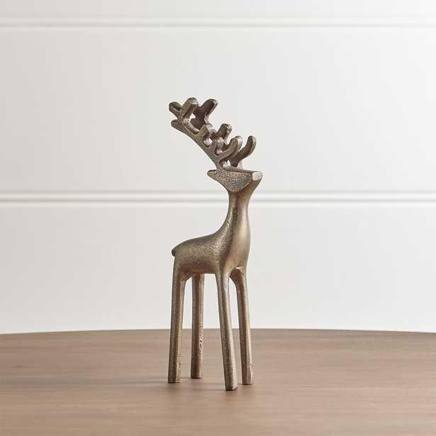 "9"" Brass Reindeer - Crate and Barrel"