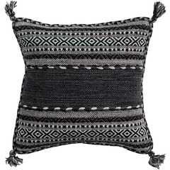 "Trenza Pillow - 18"" x 18"" with Down insert - Neva Home"