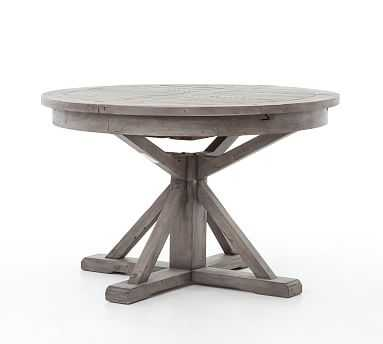 Hart Dining Table, Black Olive - Pottery Barn