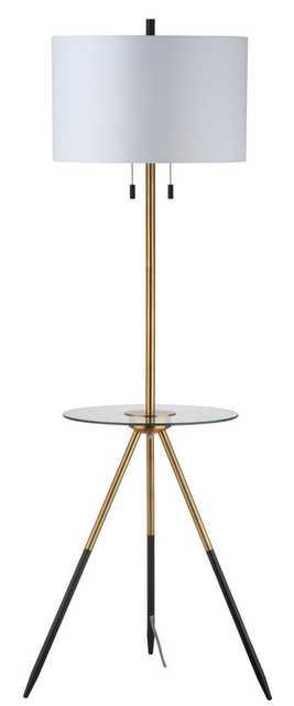 Morrison Floor Lamp Side Table - Arlo Home