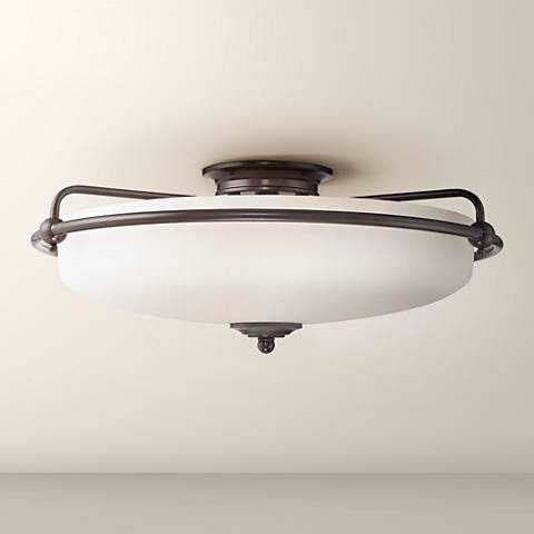 Quoizel Griffin Extra Large Bronze Floating Ceiling Light - Lamps Plus