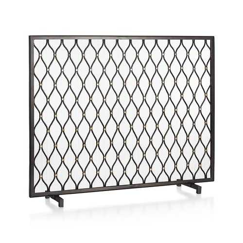Corbett Fireplace Screen - Crate and Barrel