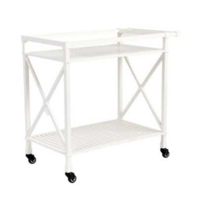 Suzanne Kasler Directoire Bar Cart white - Ballard Designs
