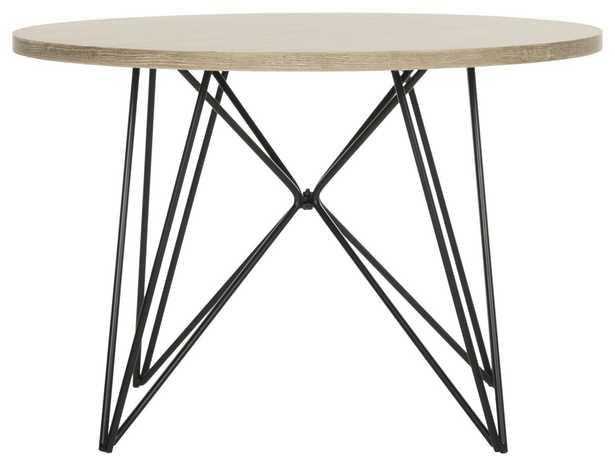 VIDA RETRO MID CENTURY WOOD END TABLE  FOX4262A - Arlo Home