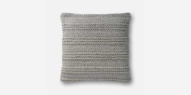 P1041 MH GREY Pillow - Loma Threads