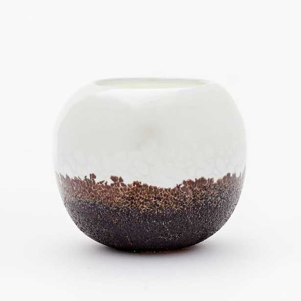 Luster Speckle Vases, Small - West Elm