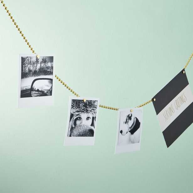 Chained Up Gold Photo Cord - CB2