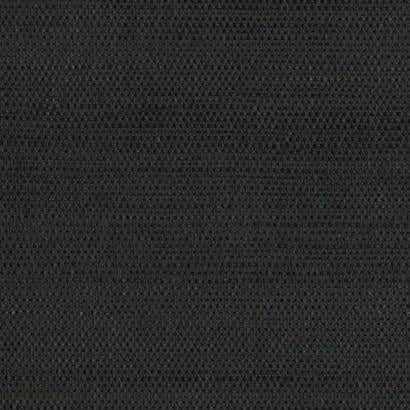 Grasscloth Sisal Wallpaper - Black Double Roll - York Wallcoverings