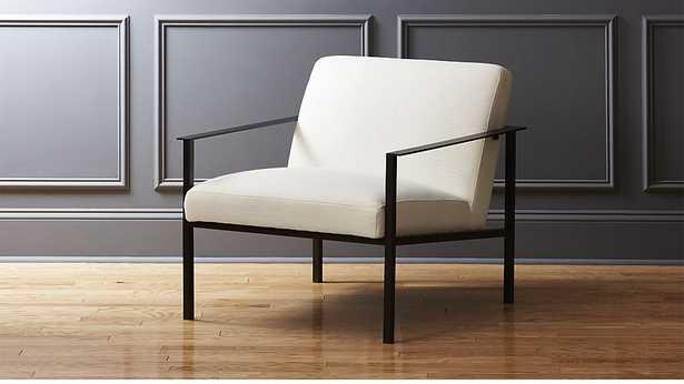 cue white chair - CB2
