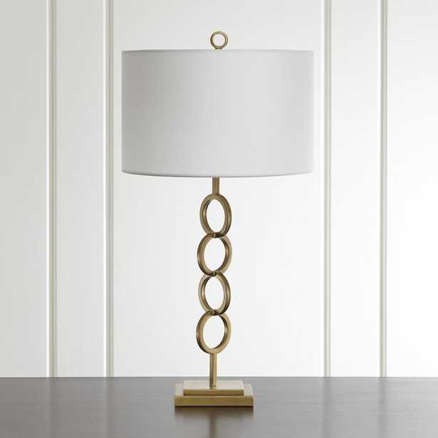 Axiom Brass Table Lamp - Crate and Barrel