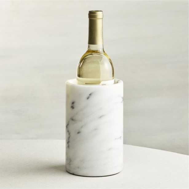 French Kitchen Marble Wine Cooler - Crate and Barrel