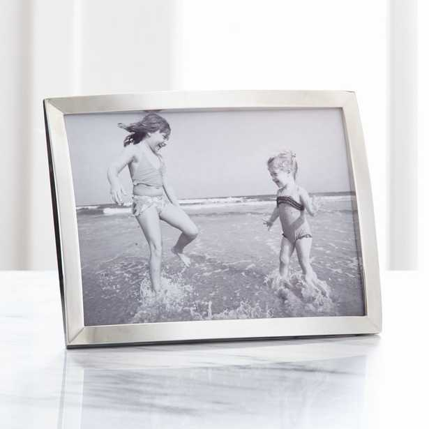 Eliza Silver 5x7 Picture Frame - Crate and Barrel