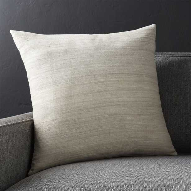 """Michaela Sesame 20"""" Pillow with Feather-Down Insert. - Crate and Barrel"""