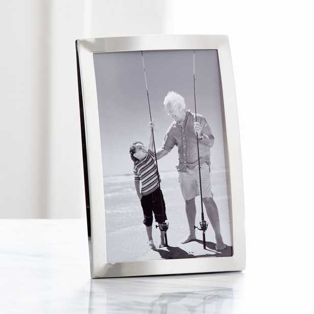 Eliza Silver 4x6 Picture Frame - Crate and Barrel